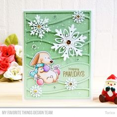 STAMPARADISE: MFT October Card Kit Countdown Day 2