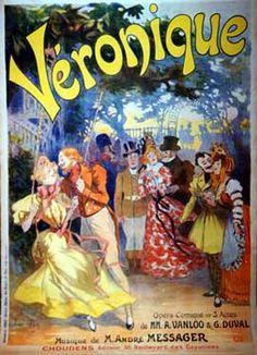 Rene Pean, Veronique, 1900