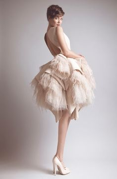 Ashi Studio - Couture fw 2013-2014...this reminds me of Josephine Baker & the late 20's by AubergineDreams