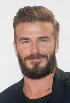Add David Beckham to the list of celeb dudes that are fully embracing the beard. The once cleanshaven soccer player has gone from scruff to full beard and back again, and now he's sporting the type of beard that Brooklyn hipster dreams are made of. The H&M underwear model has been working his way towards this look for quite some time, so we thought it only appropriate to take a look back at his facial hair evolution.
