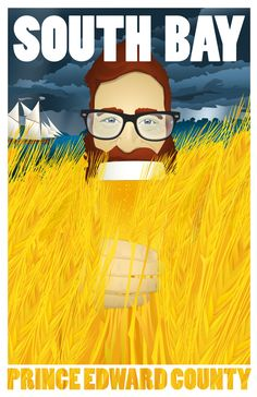 In the mid century, Prince Edward County was known for it's barley, grown all across the island and shipped to New York state where it was prized by beer and ale makers. The County's many cove… Prince Edward County Ontario, Artists For Kids, Illustrations, Brewery, 19th Century, Ale, Product Launch, Island, Posters