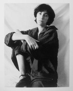 """Patti Smith, Robert Mapplethorpe, Polaroid - Patricia Lee """"Patti"""" Smith is an American singer-songwriter, poet and visual artist, who became a highly influential component of the New York City punk rock movement with her 1975 debut album Horses."""