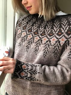 Ravelry: Goldwing pattern by Jennifer Steingass Love Knitting, Fair Isle Knitting, Baby Knitting, Knit Cardigan Pattern, Jumpsuit Pattern, Knitting Designs, Knitting Patterns, Sewing Patterns, Maid Marian