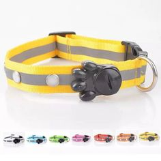 NEW NCAA Dog Cat Leash Chain Ohio State Buckeyes Metal Pet Collar Charm