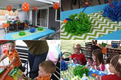monster decorations for kids party | had great aspirations of making this awesome monster cake , but time ...