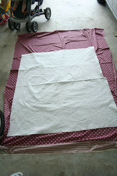 a quilt is nice: stripes baby quilt instructions