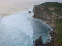 Cliff on Uluwatu