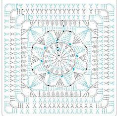 ISSUU - Interweave crochet summer 2015 by Daliute Crochet Bedspread Pattern, Crochet Mandala Pattern, Crochet Quilt, Crochet Cushions, Granny Square Crochet Pattern, Crochet Diagram, Crochet Stitches Patterns, Crochet Chart, Crochet Squares