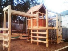 Natural State Treehouses: Rogers Family Playground