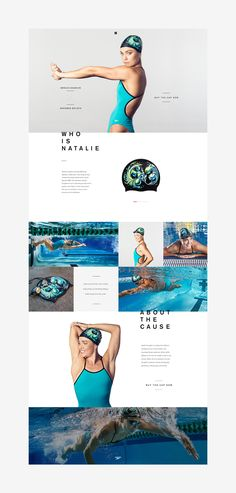 Art of The Cap was a project based on the design of 5 swimming caps created by olympic athletes in collaboration with well-known artists.