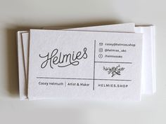 Helmies - A Christmas Gift