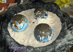 how to make concrete balls