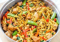 Chicken Lo Mein | Food Recipes