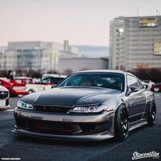 "stancenation: ""StanceNation Japan G Edition Odaiba 2017 coverage up on our site. Nissan S15, Nissan 180sx, Tuner Cars, Jdm Cars, Cars Auto, Slammed Cars, Drifting Cars, Nissan Silvia, Japan Cars"