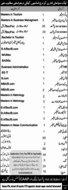 Business Development Manager Jobs in Pakistan 2021