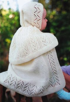 (6) Name: 'Knitting : Edwardian Carrying Cape
