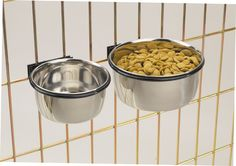 Bird Feeding Supplies: Bolt On Cage Bowl Coop Cup Clamp Crate Dog Dish Stainless Pet Bird ** Check this awesome sponsored product by going to the link at the image. Hamsters, Dog Crate Cover, Pet Cage, Bird Cage, Dog Feeder, Cat Feeding, Food Bowl, Dog Carrier, Pet Bowls