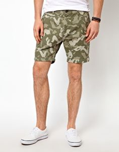 Image 1 ofSelected Camo Shorts