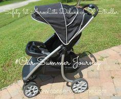 #Oursummerjourney Safety 1st Aerolite deluxe LX stroller!