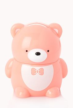 Vanilla Flavored Lip Balm | FOREVER21 - 1000091781 I get sweet lips from this sweet little bear! <3