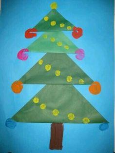 Kerstboom groot-klein