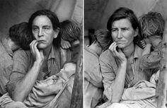 Fotógrafo recria imagens icônicas com John Malkovich   Blog 365 Filmes