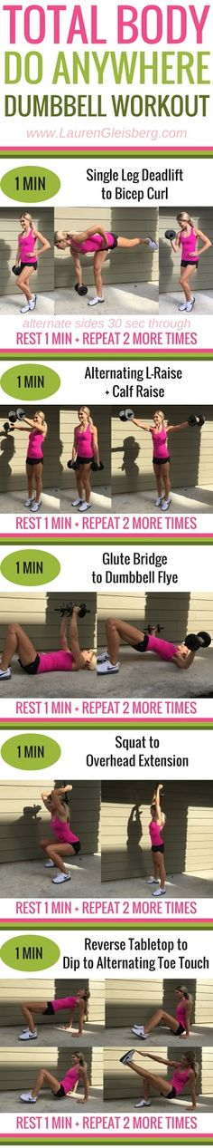 #LGFitmas Challenge: Total Body Do Anywhere Workout (W1D4) | Lauren Gleisberg | Happiness, Health, & Fitness