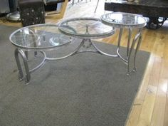 The recycler - table out of bike rims and more.