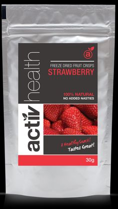 ActivHealthAU freeze dried strawberry