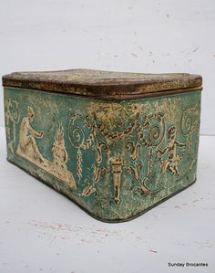 tin tea box