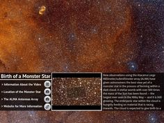 Birth of a Monster Star - Created on Tactilize