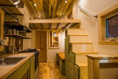 Interior - Blue Moon by MitchCraft Tiny Homes