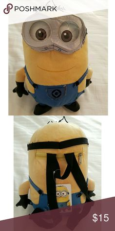 Plush Backpack - Despicable Me 2 - Jerry 887690030a1d4