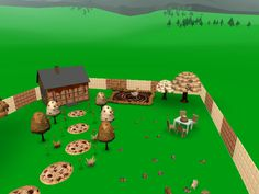 If the world was made of chocolate... well, at least your VR world can be that way!
