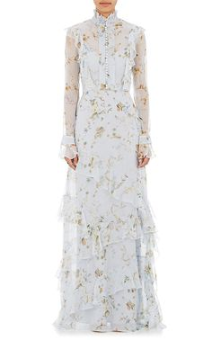 Erdem Chiffon Ibbie Gown | Barneys New York