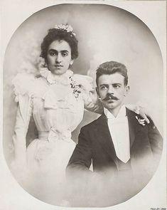 Matilde Calderon and Guillermo Kahlo, spouses