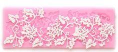 Allforhom Rattan Shape Flower and Leaf Sugarcraft Silicone Lace Fondant Embossing Cake DIY Moulds Candy Decoration Mould Cake Decorating Molds Mat Allforhome http://www.amazon.com/dp/B00ISHCWJY/ref=cm_sw_r_pi_dp_LGMzub0V8N3GM