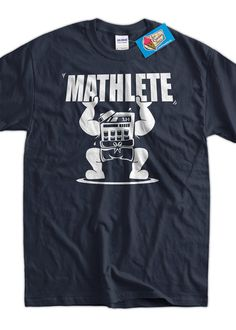 Funny Math Shirt Mathlete Pi 3.14 Math Mathematics by IceCreamTees, $14.99