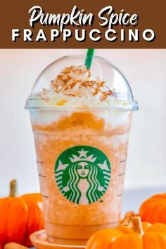 This Copycat Starbucks Pumpkin Spice Frappuccino is an irresistible treat this Fall season. This easy recipe from Bakerish has fabulous flavors that are blended together to create a delicious drink you can't resist. Give this copycat Starbucks drink recipe a try! Pumpkin Spice Frappuccino, Starbucks Pumpkin Spice, Frappuccino Recipe, Whipped Vodka, Vanilla Vodka, Vanilla Flavoring, Spiked Hot Chocolate, Classic Desserts, Pumpkin Puree