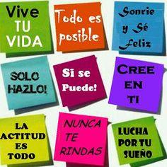 Unas #frases de #inspiracion para acabar el dia!! Buenas n@ches!!