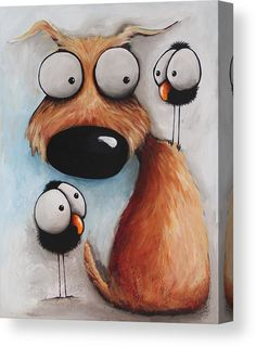 Crowded Friday by Lucia Stewart Crowded Friday Painting by Lucia Stewart art breeds cutest funny training bilder lustig welpen Animal Paintings, Animal Drawings, Cute Drawings, Acrylic Canvas, Canvas Art, Canvas Crafts, Canvas Canvas, Art Fantaisiste, Art Mignon