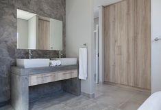 73 on Sleigh - Crontech Consulting Cupboard Storage, Storage Drawers, Built In Vanity, Concrete Bathroom, Building Contractors, Bathroom Interior Design, Rustic Industrial, West Coast, Basin