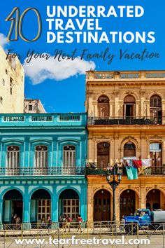 These underrated travel destinations are perfect for your next family trip. From coastal cities to the rainforests of Thailand, these family vacation destinations are road tested and come recommended from real moms like you. Best Family Vacation Spots, Family Vacation Destinations, Family Travel, Travel Destinations, Rainforests, Toddler Travel, Real Moms, Europe Travel Guide, Worldwide Travel