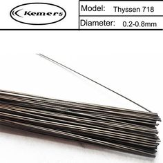 1KG/Pack Kemers Thyssen 718 TIG Welding wires&Repairing Mould argon Soldering Wire for argon arc Brazing (0.8/1.0/1.2/2.0mm)X145 #Affiliate