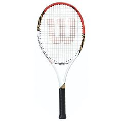 Wilson Tennis racket Pro Staff 6.1 26 BLX as model name, head size 645.16 SQ CM, string pattern of 16 by 20, Titanium body material and weight of 252 GM.
