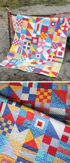 Flag Quilt, Boy Quilts, Scrappy Quilts, Quilt Blocks, Nautical Quilt, Nautical Pattern, Nautical Flags, Nautical Theme, Quilting Projects