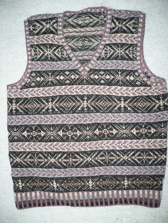 Ravelry: Fair Isle Vest WG 54 (aka April in Wisconsin aka Traditions) pattern by Meg Swansen