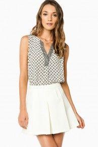 Aureli Pleated Skirt