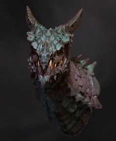 another zbrush dragon for a personal project