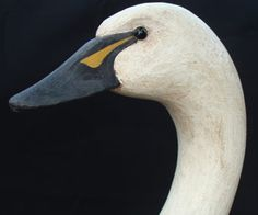Hand carved Swan decoy.